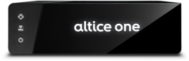 Altice One TV tuner